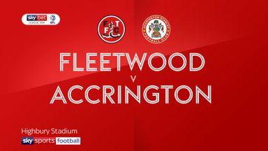 Fleetwood 2-0 Accrington