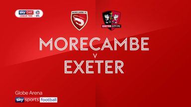 Morecambe 2-3 Exeter