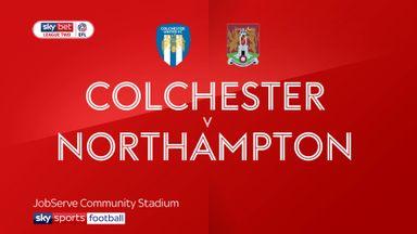 Colchester 1-0 Northampton