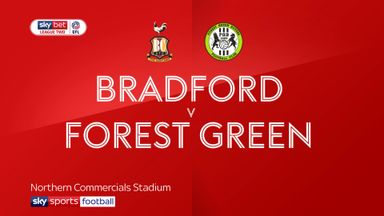 Bradford 0-1 Forest Green