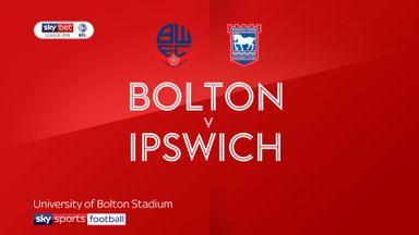 Bolton 0-5 Ipswich