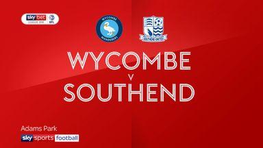 Wycombe 4-3 Southend