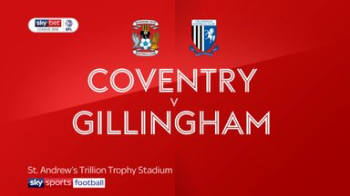 Coventry 1-0 Gillingham