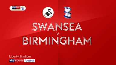 Swansea 3-0 Birmingham