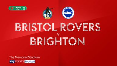 Bristol Rovers 1-2 Brighton