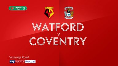 Watford 3-0 Coventry