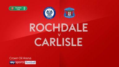 Rochdale 2-1 Carlisle