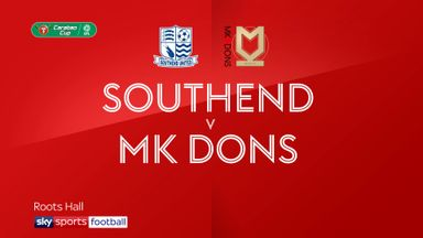 Southend 1-4 MK Dons