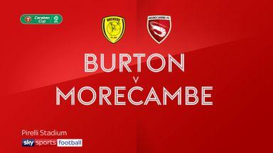 Burton 4-0 Morecambe
