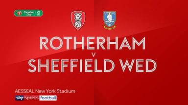 Rotherham 0-1 Sheffield Wednesday