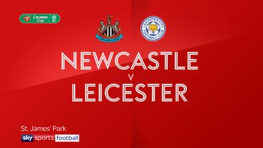 Newcastle 1-1 Leicester (2-4 pens)