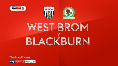West Brom 3-2 Blackburn