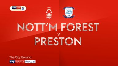 Nottm Forest 1-1 Preston