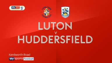 Luton 2-1 Huddersfield