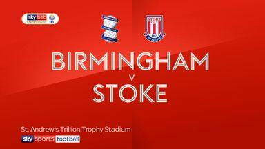 Birmingham 2-1 Stoke