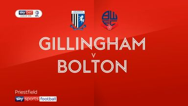 Gillingham 5-0 Bolton