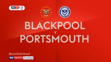 Blackpool 1-1 Portsmouth