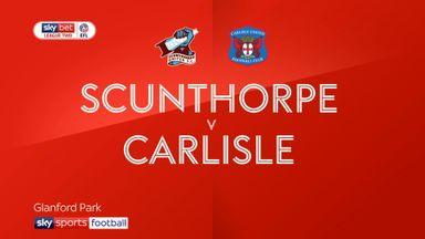 Scunthorpe 0-1 Carlisle