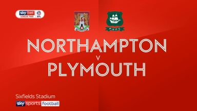Northampton 3-1 Plymouth