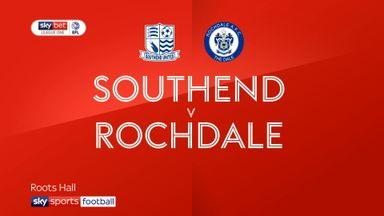 Southend 0-3 Rochdale