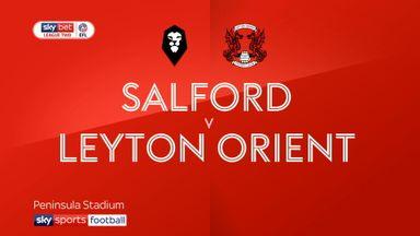Salford 1-1 Leyton Orient