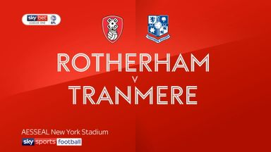 Rotherham 1-1 Tranmere