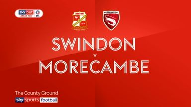 Swindon 3-1 Morecambe