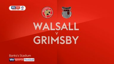 Walsall 1-3 Grimsby