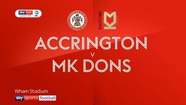 Accrington Stanley 2-1 MK Dons