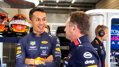 Albon felt at home with car