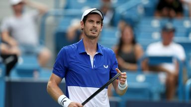 Murray happy with return to singles action