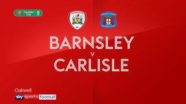 Barnsley 0-3 Carlisle