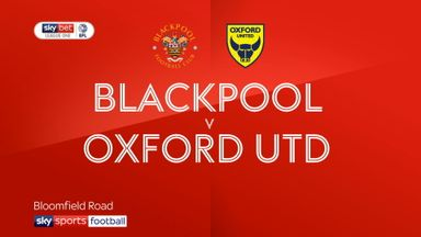 Blackpool 2-1 Oxford