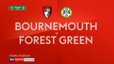 Bournemouth 0-0 Forest Green (3-0 pens)