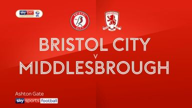 Bristol City 2-2 Middlesbrough