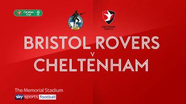 Bristol Rovers 3-0 Cheltenham
