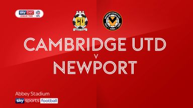 Cambridge 0-0 Newport
