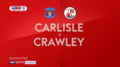 Carlisle 2-1 Crawley