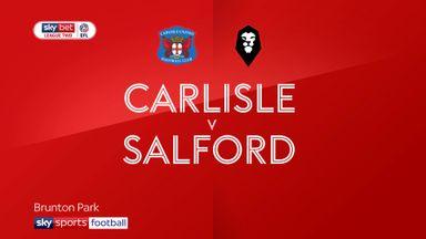 Carlisle 2-2 Salford