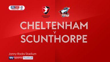 Cheltenham 4-1 Scunthorpe