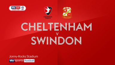 Cheltenham 2-2 Swindon