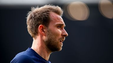 Poch: Eriksen is happy here