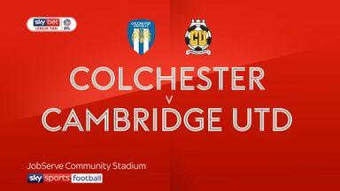 Colchester 1-2 Cambridge