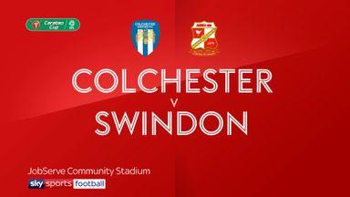 Colchester 3-0 Swindon