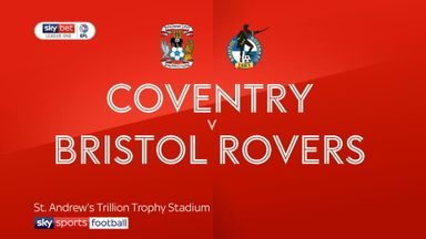 Coventry 2-0 Bristol Rovers