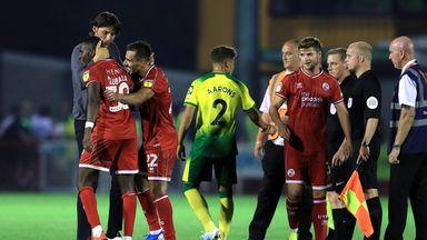 Carabao: Palace, Norwich make shock exits