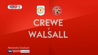 Crewe 1-0 Walsall
