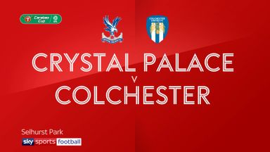 Crystal Palace 0-0 Colchester (4-5 pens)