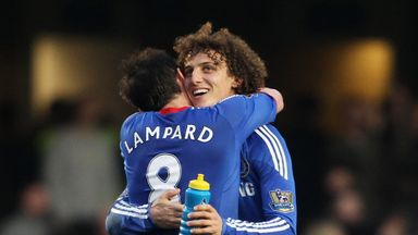 Lampard: No fallout with David Luiz