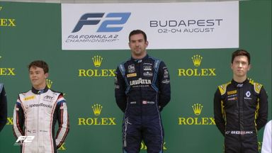F2 Race 1: Top 3